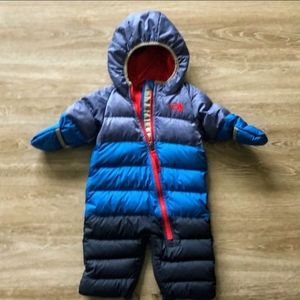 The North Face infant bunting